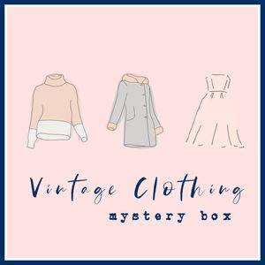 Vintage Clothing Mystery Box!